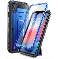 SUPCASE Unicorn Beetle Pro Series Case Designed for iPhone XR, with Built-in Screen Protector Full-Body Rugged Holster Case for iPhone XR 6.1 Inch (2018 Release) (Royal Blue)