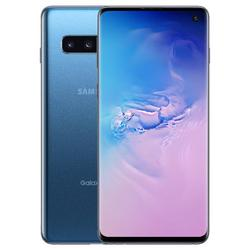 Samsung G973 Galaxy S10, 128 GB, Prism Blue - Fully Unlocked - GSM and CDMA compatible (Refurbished)