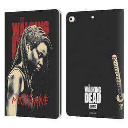 Head Case Designs Officially Licensed AMC The Walking Dead Season 10 Character Portraits Michonne Leather Book Case Compatible with Apple iPad 9.7 2017 / iPad 9.7 2018