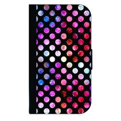 Watercolor Polka Dots - Galaxy s10p Case - Galaxy s10 Plus Case - Galaxy s10 Plus Wallet Case - s10 Plus Case Wallet - Galaxy s10 Plus Case Wallet - s10 Plus Case Flip Cover