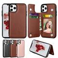 iPhone 11 Case, iPhone 11 Wallet Case, Takfox Shockproof PU Leather Case with Card Pockets 3 Cards Slots Cash ID Credit Card Flip Phone Cases Cover Kickstand Magnetic Hard Cases For iPhone 11, Brown