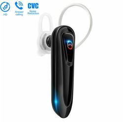 Bluetooth Headset 5.0, 16 Hrs Talktime Bluetooth Earpiece, Noise Cancelling Mute Key Wireless Earphones for Cell Phones Business Trucker Office