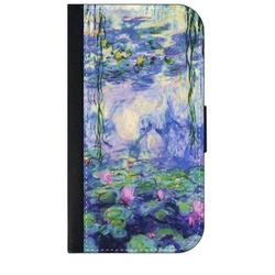 Artist Claude Monet's Nympheas Art Painting - Galaxy s10p Case - Galaxy s10 Plus Case - Galaxy s10 Plus Wallet Case - s10 Plus Case Wallet - Galaxy s10 Plus Case Wallet - s10 Plus Case Flip Cover