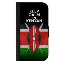 Flag Kenya - Keep Calm I'm Kenya Flag Galaxy s10p Case - Galaxy s10 Plus Case - Galaxy s10 Plus Wallet Case - s10 Plus Case Wallet - Galaxy s10 Plus Case Wallet - s10 Plus Case Flip Cover