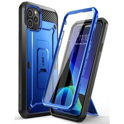 SUPCASE Unicorn Beetle Pro Series Phone Case Designed for iPhone 11 Pro Max Case 6.5 Inch (2019 Release), Built-in Screen Protector Full-Body Rugged Holster Case (Dark Blue)