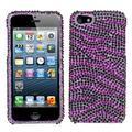 MyBat Zebra Hard Rhinestone Cover Case For iPhone SE 5 5S case cover