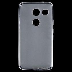 LG Nexus 5X Tinted Clear Crystal Skin Case Clear