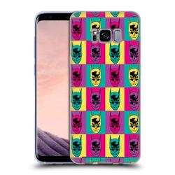 Head Case Designs Officially Licensed Batman DC Comics Vintage Fashion Pop Art Head Soft Gel Case Compatible with Samsung Samsung Galaxy S8