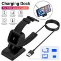 Famure Data CableCharger Dock Nonslip Stand Replacement Charging Cable Fit for Fitbit Versa 2