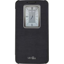LG QuickWindow Carrying Case (Folio) Smartphone, Black