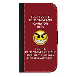 Keep Calm Plot Revenge Quote Galaxy s10p Case - Galaxy s10 Plus Case - Galaxy s10 Plus Wallet Case - s10 Plus Case Wallet - Galaxy s10 Plus Case Wallet - s10 Plus Case Flip Cover