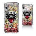 D.C. United Confetti Glitter iPhone X/XS Case