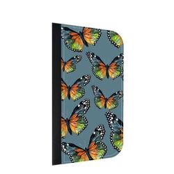 Slate Butterfly Pattern Galaxy s10p Case - Galaxy s10 Plus Case - Galaxy s10 Plus Wallet Case - s10 Plus Case Wallet - Galaxy s10 Plus Case Wallet - s10 Plus Case Flip Cover