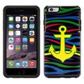 OtterBox Symmetry Apple iPhone 6 and iPhone 6S Case - Anchor on Colorful Zebra Black OtterBox Case