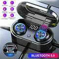 Wireless Bluetooth Earbuds Touch Control IPX8 In-Ear Headset Earphone Immersive Bass Sound with Charging Case for iPhone/Samsung & Smart Phones
