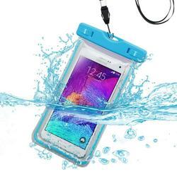 Premium Waterproof Sports Swimming Lightning Carrying Case Bag for LG MS659 (Optimus F3), LS720 (Optimus F3), VM720 (Optimus F3), VS840PP (Optimus Exceed), L40G (Optimus Extreme) (with Lanyard) (Ligh