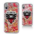 D.C. United Pattern Glitter iPhone X/XS Case