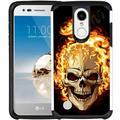 LG Aristo Case, LG K8 (2017) Case, LG Rebel 2 Case, LG Phoenix 3 Case, LG Fortune Case - Armatus Gear (TM) Slim Hybrid Case Dual Layer Protective Phone Cover