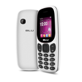BLU Tank Jr T590 Unlocked GSM Dual Sim 32MB W/ Built-In Flashlight VGA Camera - White