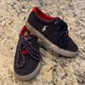 Polo By Ralph Lauren Shoes | Boys Navy Polo Shoes - Size 11 | Color: Red | Size: 11b