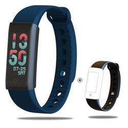 Digital Watches Men Women Bracelet LED Watches Relogio Masculino Sport Watch Military Clock Electronic Wristwatch Blue and black