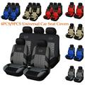 HOTBEST 9PCS Universal Car Seat Covers Full Car Seat Cover Car Cushion Case Cover Front Car Seat Cover Car Accessories