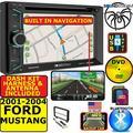 01 02 03 04 FORD MUSTANG GPS NAVIGATION BLUETOOTH USB CD/DVD/AUX Radio Stereo