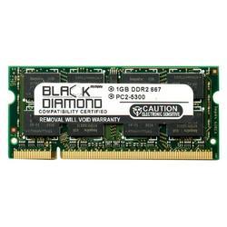 1GB Memory RAM for Acer Aspire Notebooks 9410-2597, 4710NWXMi, 5315-2142, L320, ASL100-UA380A 200pin PC2-5300 667MHz DDR2 SO-DIMM Black Diamond Memory Module Upgrade