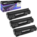 Speedy Compatible Toner Cartridge Replacement for Canon 128 3500B001AA (Black, 3-Pack)