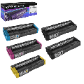 Speedy Compatible Toner Cartridge Replacement for Ricoh 406475, 406476, 406477, 406478 High Yield (2 Black, 1 Cyan, 1 Magenta, 1 Yellow, 6-Pack)