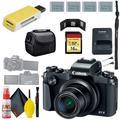 Canon PowerShot G1 X Mark III Digital Camera & 16GB MicroSD & Carrying Case & Battery x3