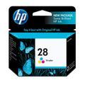 HP 28 Ink Cartridge, Tri-color (C8728AN)