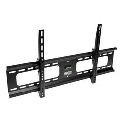 """Tripp Lite Heavy-Duty Tilt Wall Mount for 37"""" to 80"""" TVs and Monitors, Flat or Curved Screens, UL Certified - Bracket - for flat panel - steel - black - screen size: 37""""-80"""" - wall-mountable"""
