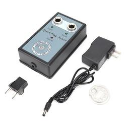Mgaxyff Sparking Plug Diagnostic Tool,Auto Adjustable Sparking Plug Tester Dual Hole Ignition Engine Fault Code Reader,Dual Hole Ignition