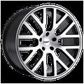 """""""17"""""""" Inch 5x112 Wheel Rim TSW DONINGTON 17x8 +42mm GRAY"""""""