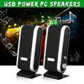 USB Power Stereo Speaker Loudspeaker Box Earphone 3.5mm Jack For Laptop PC Phone