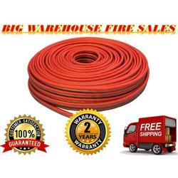 Marine Red/ Black 50 Ft True 10 Gauge Marine Car, Home Audio Speaker Wire Cable