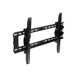 "StarTech.com Flat Screen TV Wall Mount - Tilting - Supports 32"" to 75"" TVs - Steel - VESA TV Mount - Monitor Wall Mount (FLATPNLWALL) - Mounting kit (wall plate, 2 mounting brackets) - for flat panel - black - screen size: 32""-75"" - wall-mountable -..."