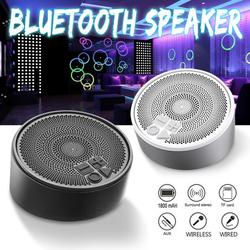 Portable TWS Wireless Double Channel USB Bluetooth 4.2 Speaker Computer Speakers Support Bluetooth Playback, TF Card Play, Hands-free Calls, Audio Line Play