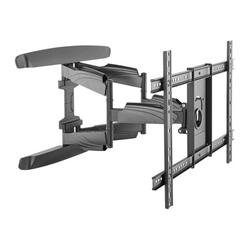 StarTech.com TV Wall Mount supports up to 70 inch VESA Displays, Low Profile Full Motion Universal TV Flat Screen Wall Mount Heavy Duty Adjustable Tilt/Swivel Articulating Arm Bracket - Cable Management (FPWARTB2) - Mounting kit (wall mount, wrench, 2...