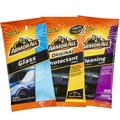 Armor All Wipes Protectant, Cleaning and Glass Kit (20 Wipes in Each Pouch)