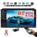 EINCAR Navigation Win CE product 7-inch Double DIN in Dash Car MP5 Player Car Stereo System Capacitive Touch Screen Support SWC USB Sd Mp3 FM Radio for 2 din Universal Car With Backup Camera