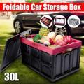 Foldable Car Storage Box, 30l Large-Capacity Trunk Storage Box, Storage Box, Multi-Function Trunk, Foldable Storage Box, Durable And Waterproof