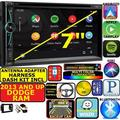 2013 & UP RAM DVD/CD/USB NAVIGATION BLUETOOTH DOUBLE DIN CAR STEREO RADIO