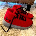 Under Armour Shoes | Little Boys Size 11 Under Armour Shoes Never Worn! | Color: Red | Size: 11b