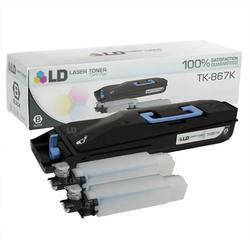 LD Compatible Replacement for Kyocera Mita TK-867K Black Laser Toner Cartridge for use in Kyocera Mita TASKalfa 250ci, and 300ci s