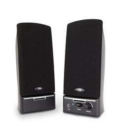 Cyber Acoustics 2.0 Amplified Speaker System Delivering Quality Audio (CA-2014WB) NEW