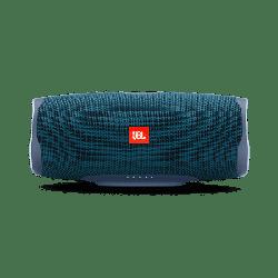 JBL Charge 4 Portable Bluetooth Speaker, Blue - Manufacturer Refurbished