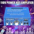 600W 110V 4-16Ohm Wireless Digital Amplifier HIFI Stereo Audio AMP USB SD FM Mic For Car Home i Pad Phones bluetooth Tablet Computers