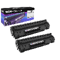 Speedy Compatible Toner Cartridge Replacement for Canon 128 3500B001AA (Black, 2-Pack)